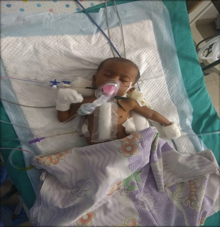 Healthcare NGO helps 9 months old baby