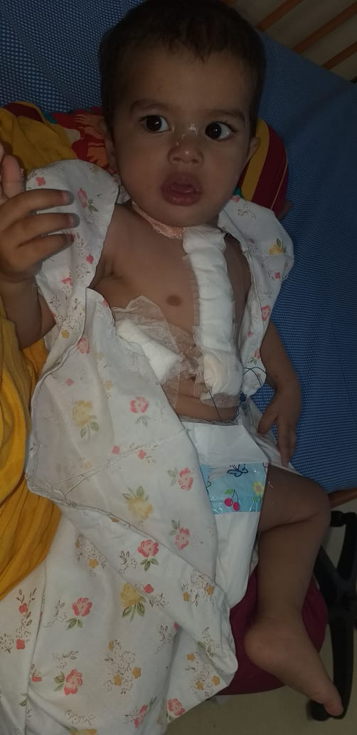 Healthcare NGO - provided financial support for Pediatric Cardiac Surgery