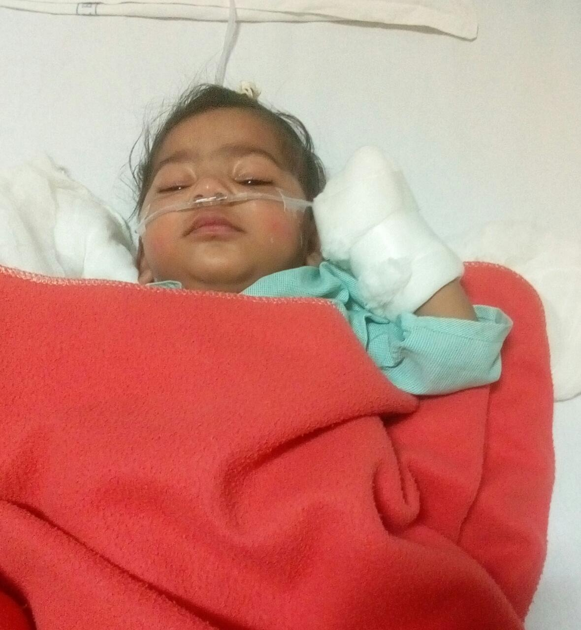 Helping Hand Foundation has provided financial assistance for an Emergency Surgery