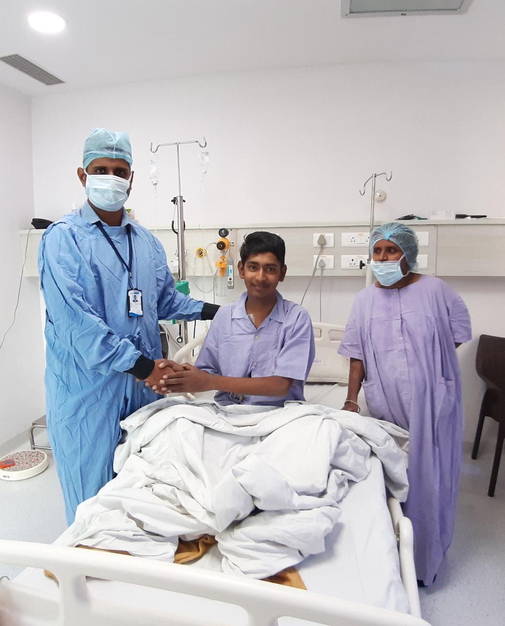 Healthcare NGO - provided financial support for Bone Marrow Transplant