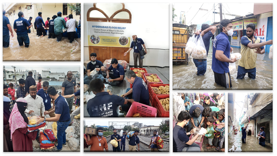 Support to floods affected areas