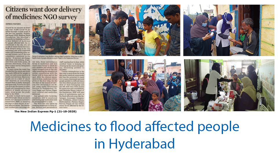 Medicines to Flood affected